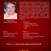 Yoga Teacher Program by Swamy Adhyatmananda