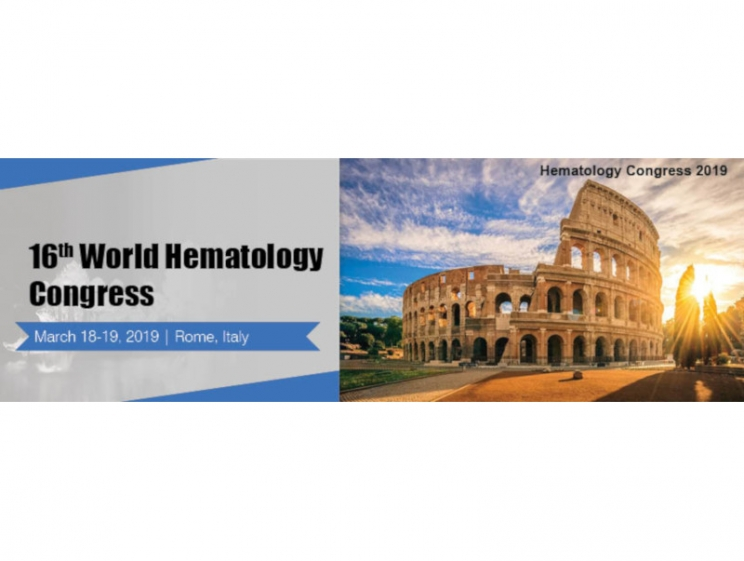 16th World Hematology Congress @ Holiday Inn Rome Aurelia