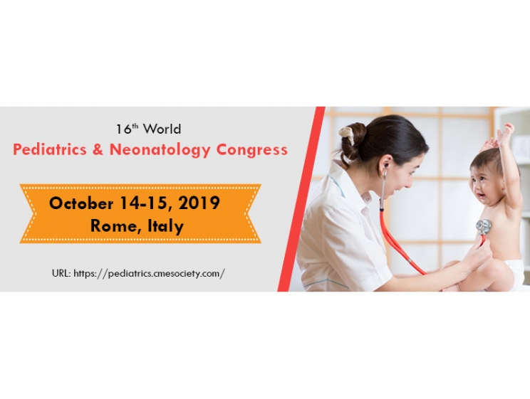 16th World Pediatrics & Neonatology Congress @ Rome, Italy
