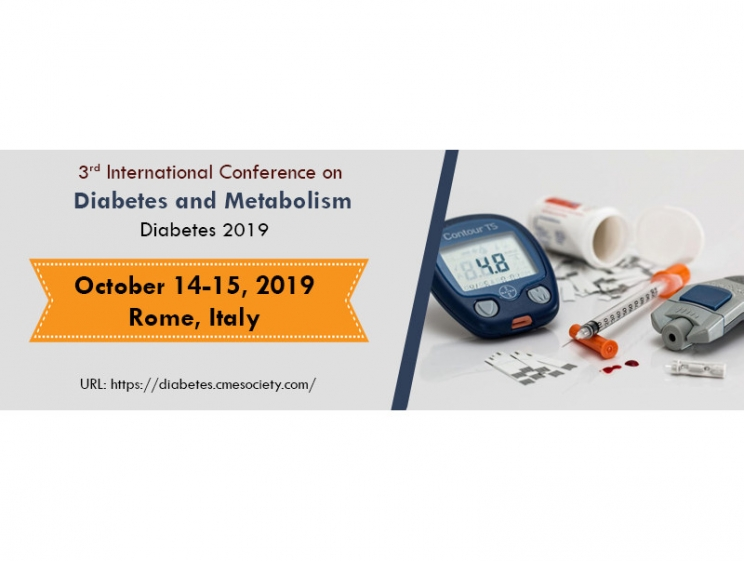 3rd International Conference on Diabetes and Metabolism @ Rome, Italy