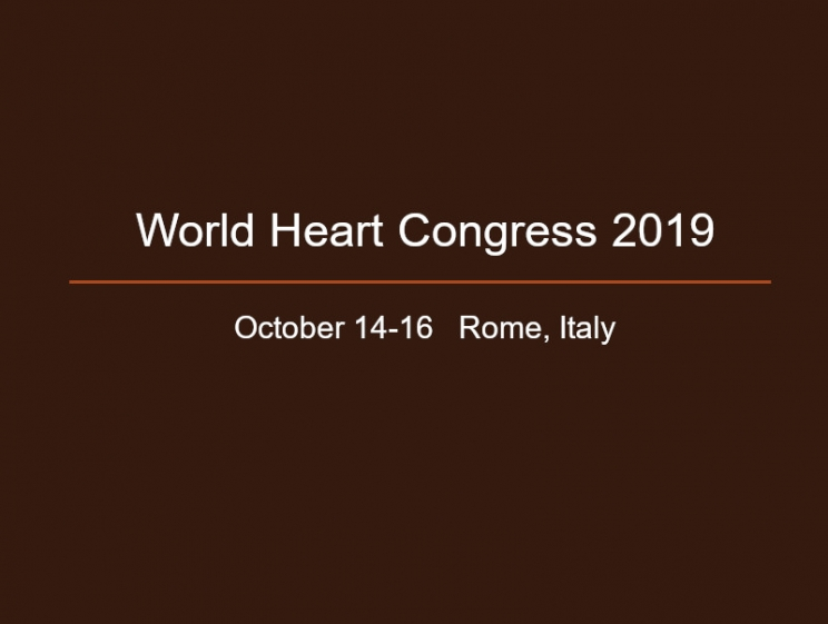 Heart Congress 2019 @ Rome, Italy