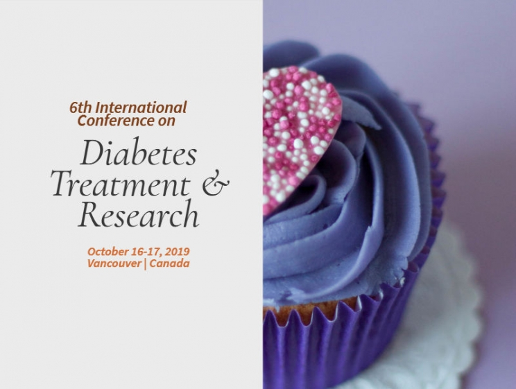 6th International Conference on Diabetes Treatment & Research @ Vancouver, Canada