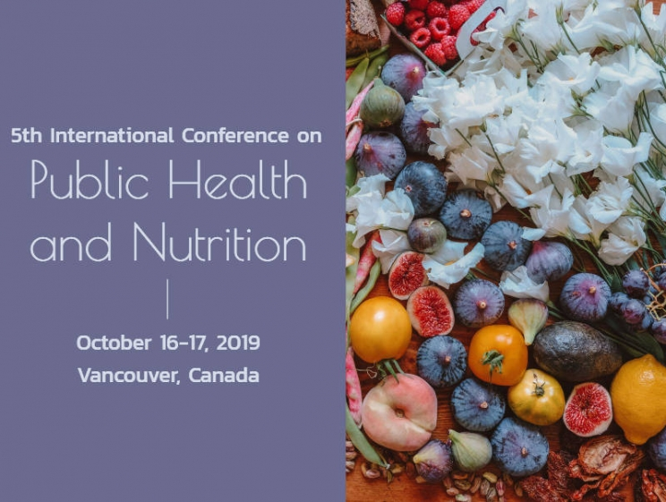5th International Conference on Public Health and Nutrition @ Vancouver, Canada