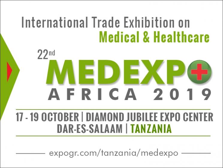 22nd MEDEXPO Africa 2019 @ Dar-es-Salaam, Tanzania