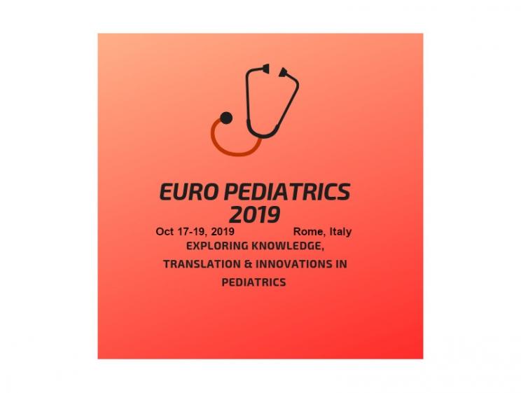 Euro Pediatrics 2019 @ Rome, Italy