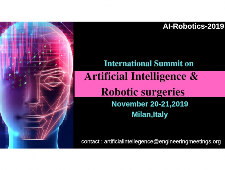 International Summit on Artificial Intelligence & Robotic Surgeries @ Milan, Italy