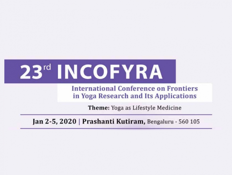 23rd INCOFYRA - Yoga Research Conference @ Bengaluru, India