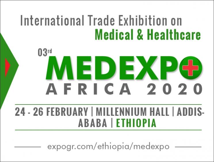 3rd MedExpo Africa 2020 @ Addis Ababa, Ethiopia